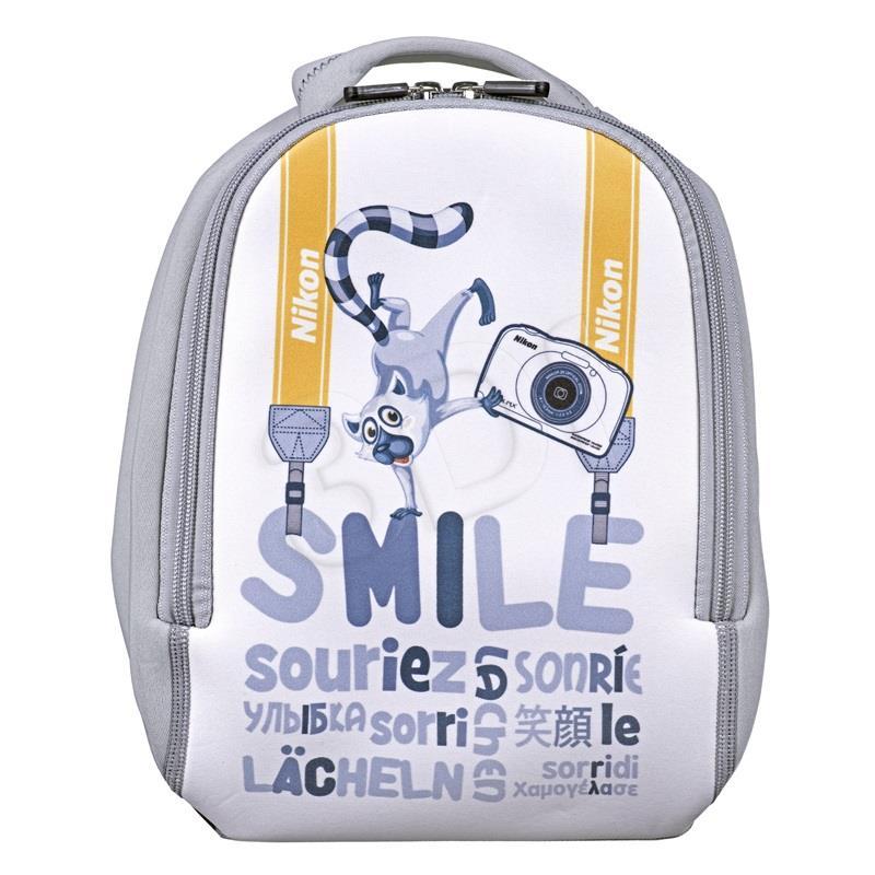 Nikon COOLPIX W100 Backpack kit Compact camera, 13.2 MP, Optical zoom 3 x, Digital zoom 2 x, ISO 1600, Display diagonal 6.86 cm, Wi-Fi, Focu Digitālā kamera