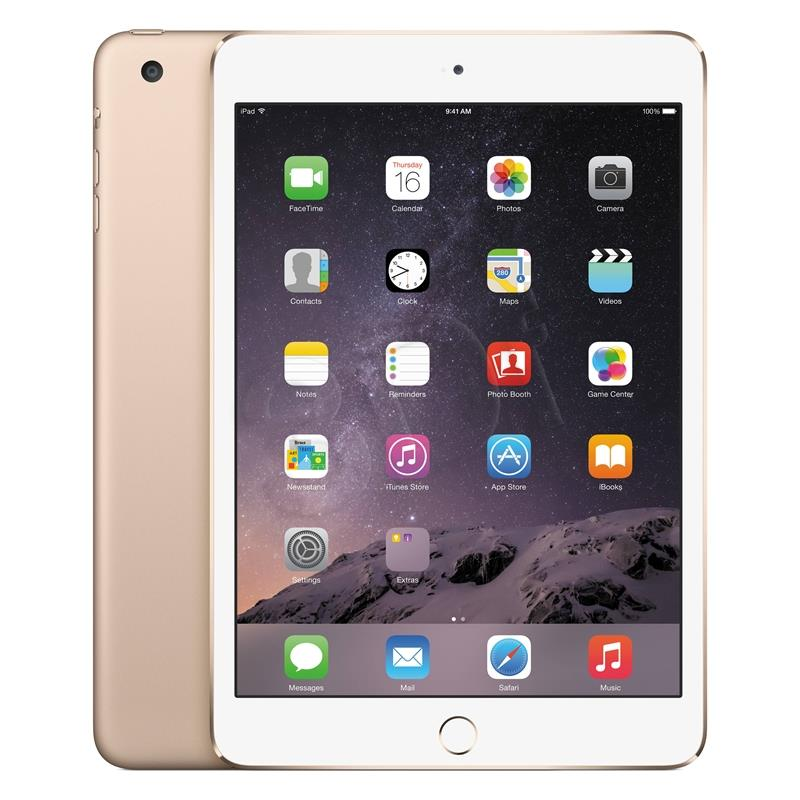 APPLE IPAD MINI 4 WI-FI 128GB GOLD Planšetdators