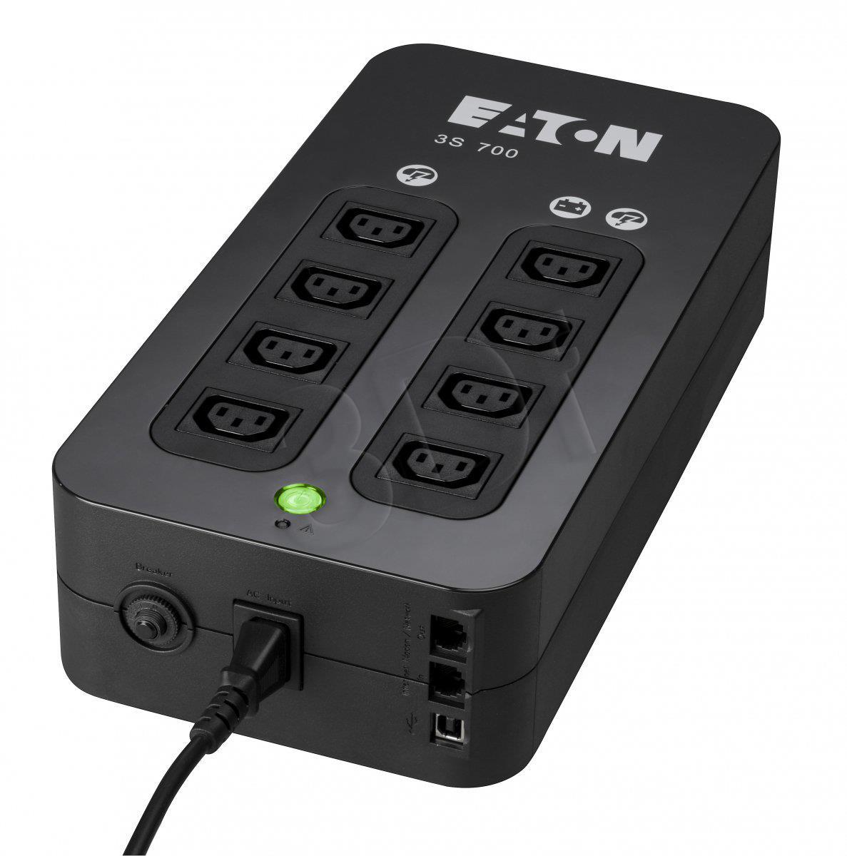EATON 3S 700 IEC nepārtrauktas barošanas avots UPS