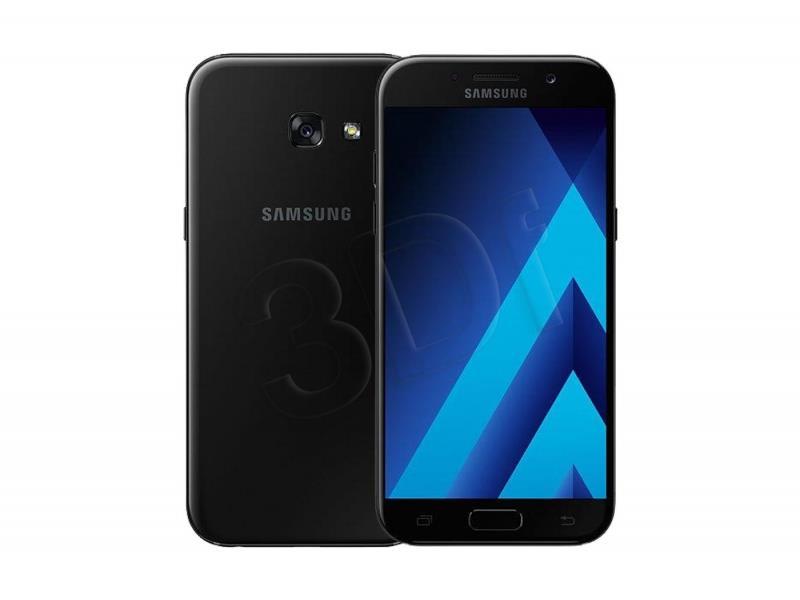 Samsung GALAXY A5 A520 2017 black Mobilais Telefons