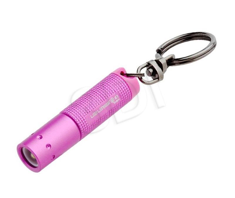 Zweibruder LED LENSER  K1 pink kabatas lukturis