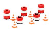 Siku RACING Zestaw jezdni z dodatkami 30 stopni zakret 6854 Radiovadāmā rotaļlieta