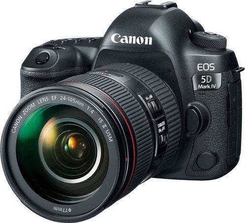Lustrzanka Canon EOS 5D Mark IV + 24-105mm f/4L IS II USM 5672279 Spoguļkamera SLR