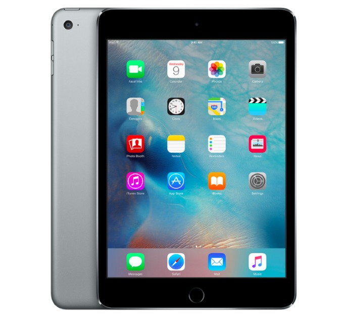 Apple IPAD, MINI 4, WIFI, 128GB, SPACE GREY Planšetdators