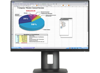HP Z24n Narrow Bezel Display monitors