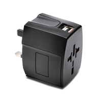 Kensington Intnl Travel Adapter USB 2.4A peles paliknis