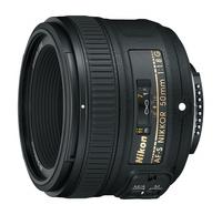 Nikon 50MM F1.8G AF-S NIKKOR foto objektīvs