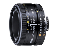 Nikon 50MM F1.8D AF NIKKOR, Compact, affordable normal lens; foto objektīvs