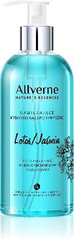 Allverne Nature s Essences Mydlo do rak i pod prysznic Lotos-Jasmin  300ml 380170