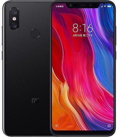Xiaomi Mi 8 6GB/128GB Black Mobilais Telefons