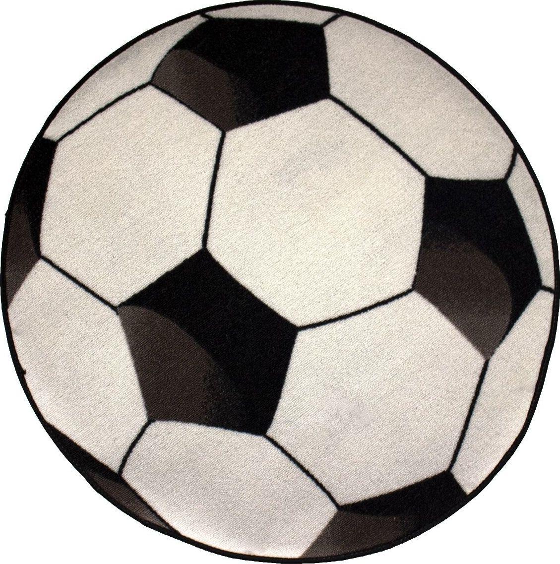 AW Rugs Vaikiskas kilimas Football, 80x80 cm 5033626