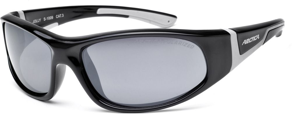 Arctica Okulary sportowe dzieciece Jolly czarne (S-1009) S-1009