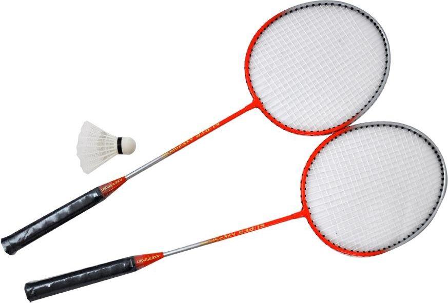 Axer Zestaw do badmintona  Tatuu czerwony (A1977) A1977 badmintona rakete