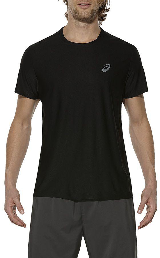 Asics Koszulka meska SS Top Black r. S (134084-0904) 134084 0904