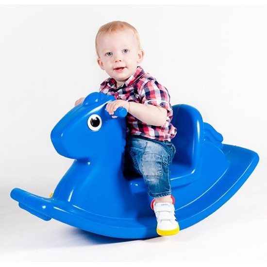Kon na Biegunach Blue bērnu rotaļlieta