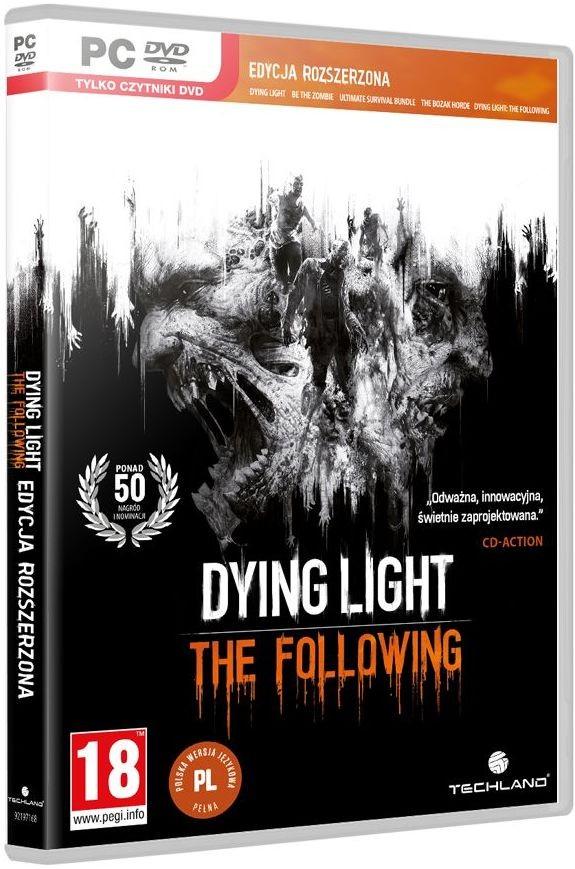 Dying Light Enhanced Edition w steelbook (PC) spēle
