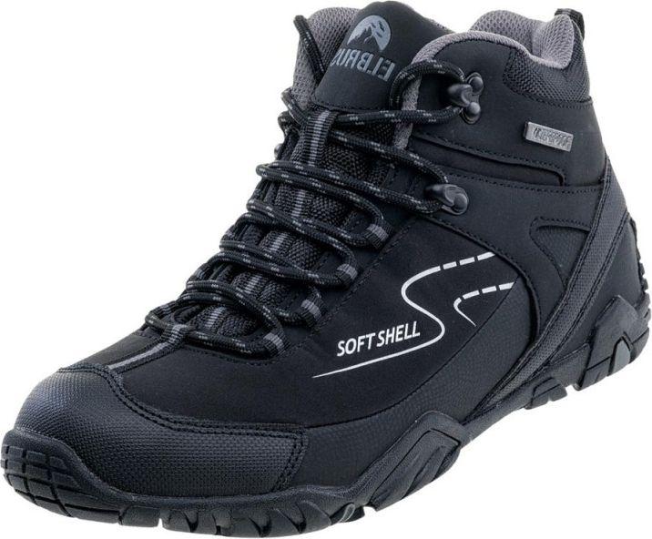 Elbrus Buty meskie Maash Mid WP Black / Dark Grey r. 45 4912311 Tūrisma apavi