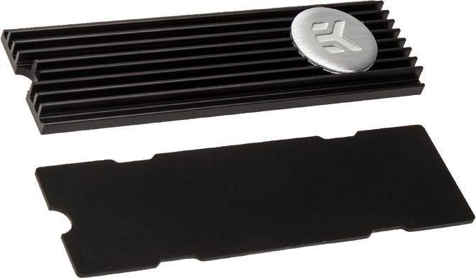 EK Water Blocks EK-M.2 NVMe Heatsink - black ūdens dzesēšanas sistēmas piederumi