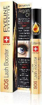 Eveline SOS Lash Booster 5in1 eyelash serum 10 ml skropstu tuša