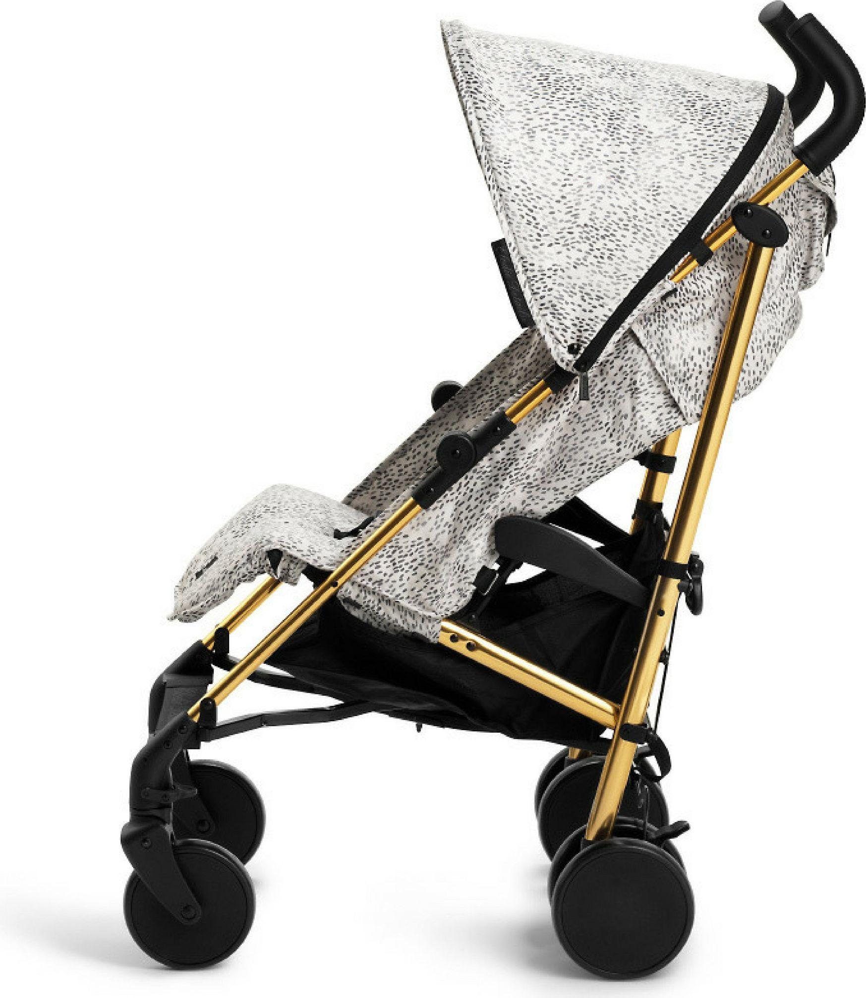 Wozek Elodie Details Elodie Details - Stockholm Stroller Dots of Fauna 7350041678250 bērnu ratiņi