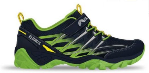 Elbrus Buty Juniorskie Niskie Voluis JR Navy/Lime/Yellow r. 34 1751234