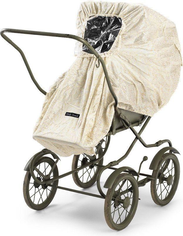 Elodie Details Elodie Details - RainCover - Gold Shimmer 7350041677673 bērnu ratiņi