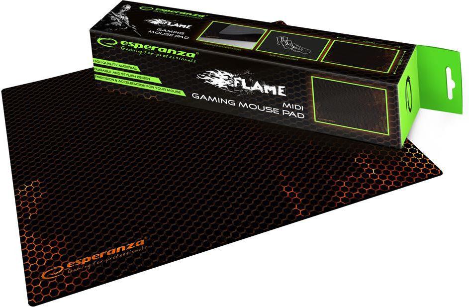 Esperanza EGP102R GAMING Mouse Pad  |300 x 240 x 3 mm peles paliknis