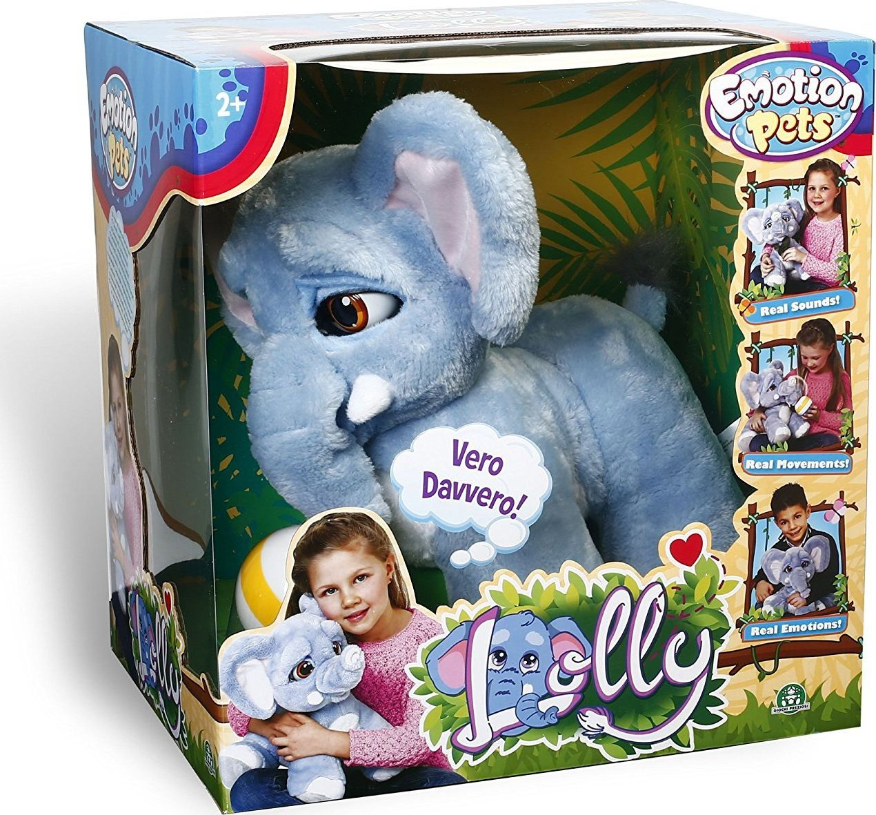 Emotion Pets Slon interaktywny emocje 5673285 bērnu rotaļlieta