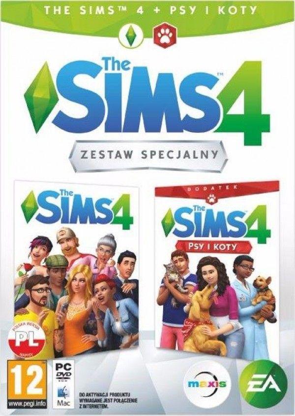 Gra PS4 The Sims 4 + dodatek Psy i Koty 5030933123342