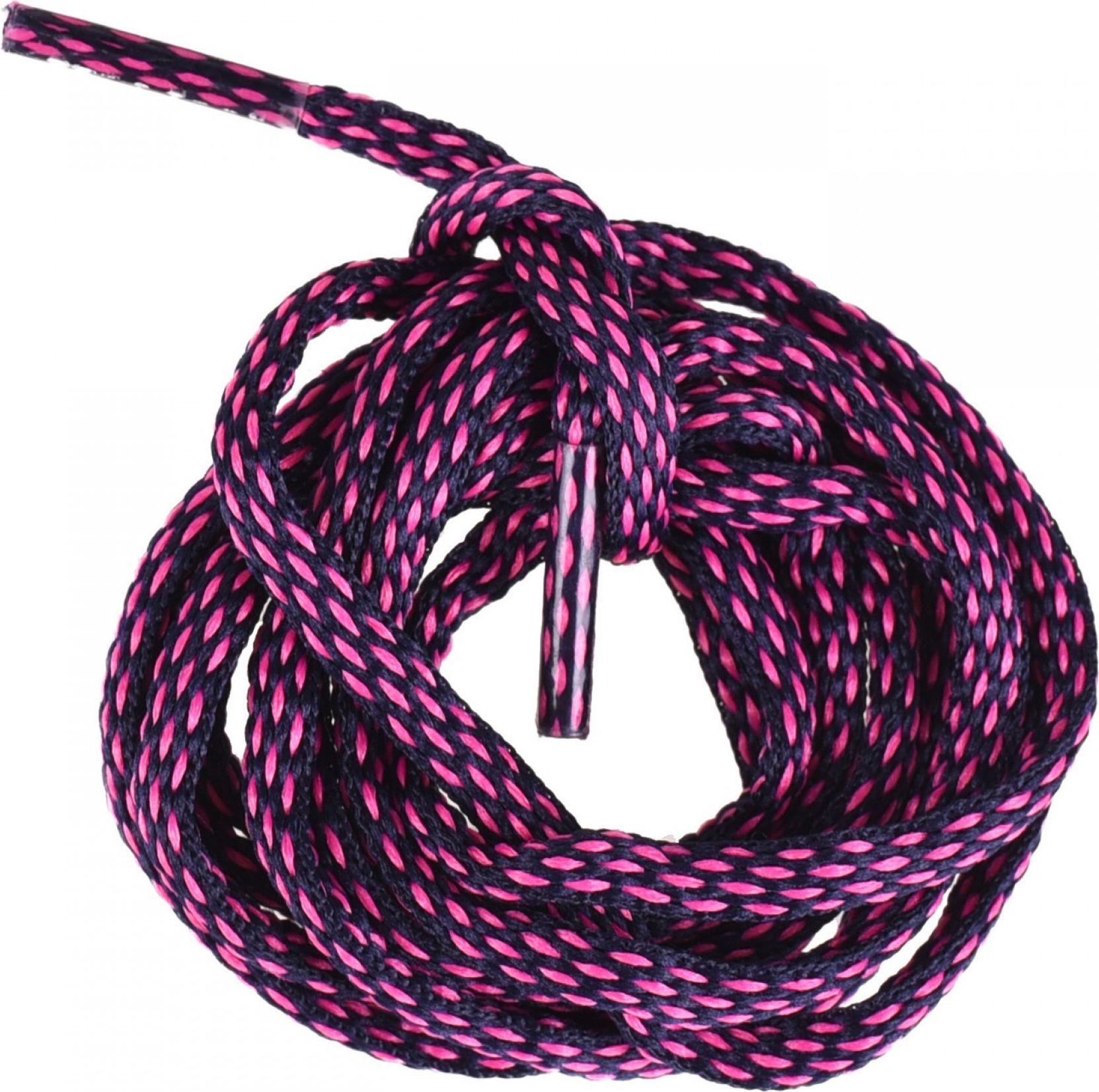 Elbrus Sznurowki Lace Discovery navy/pink 150 cm 5902786056019 Kopšanas līdzekļi apaviem