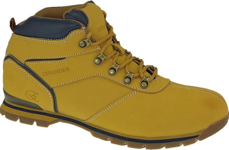 Expander Buty meskie bezowe r. 44 (938DA5) 938DA5 Yellow Tūrisma apavi
