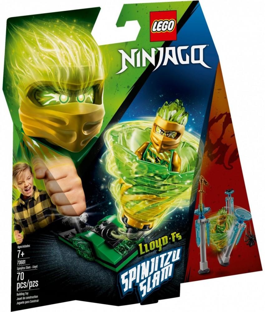 LEGO NINJAGO 70681 Spinjitzu Slam Lloyd LEGO konstruktors