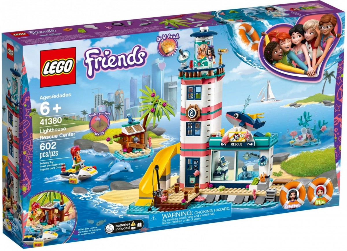 LEGO Friends 41380 Lighthouse Rescue Center LEGO konstruktors