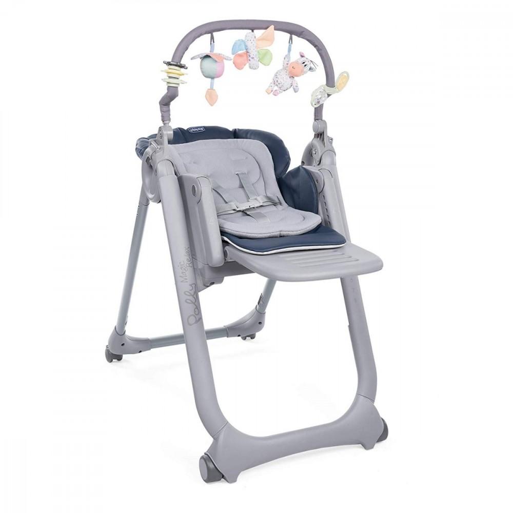 Chicco Polly Magic Relax 4 India Ink bērnu barošanas krēsls