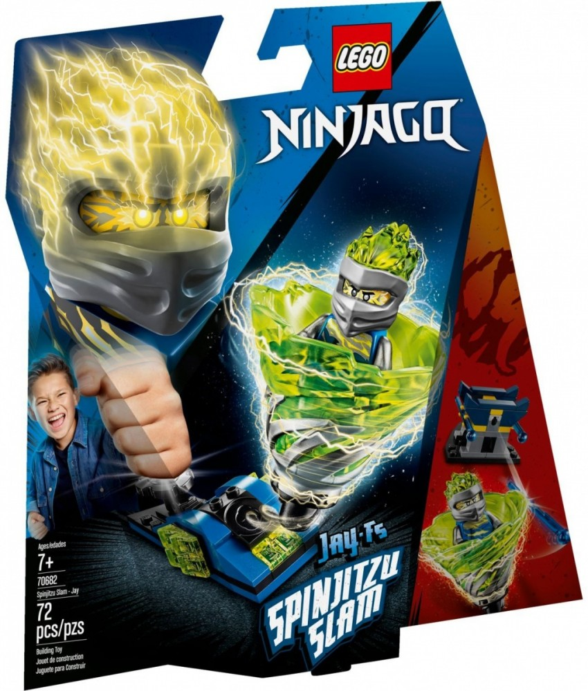 LEGO NINJAGO 70682 Spinjitzu Slam Jay LEGO konstruktors
