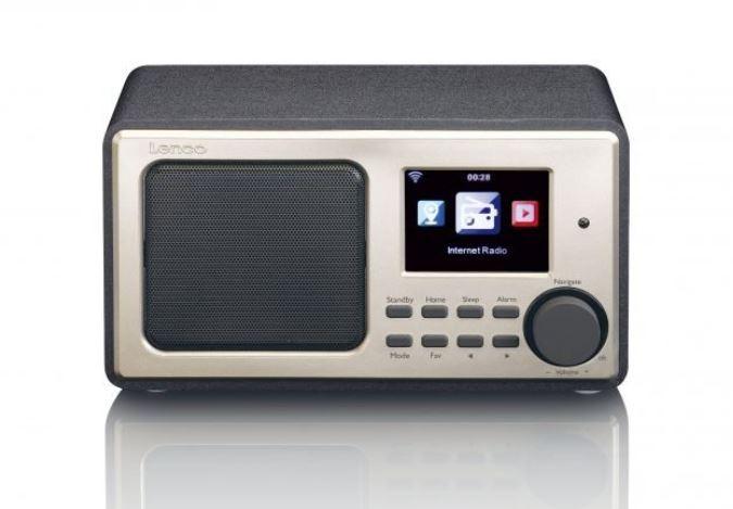 Radio Lenco DIR-100 Black radio, radiopulksteņi