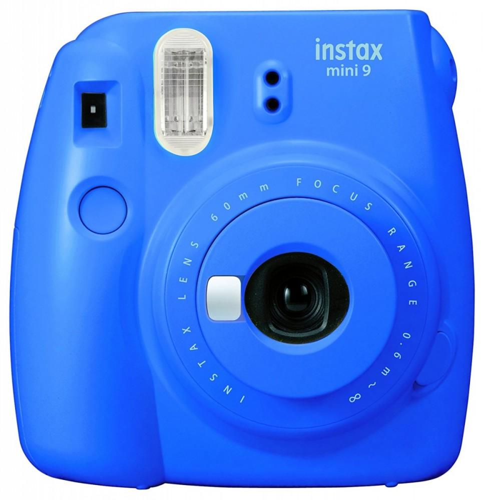 Instax Mini 9 cobalt blue FujiFilm Instax Mini 9 cobalt blue Digitālā kamera