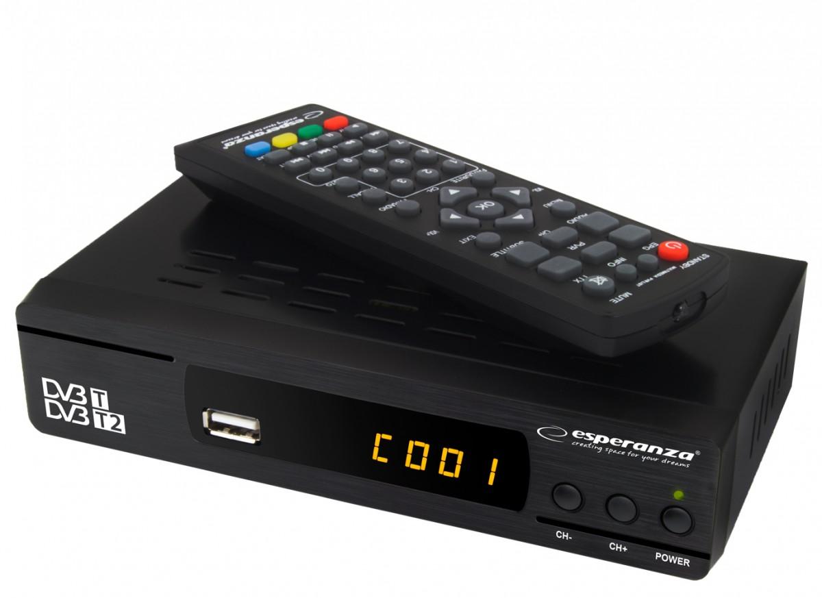 Esperanza  EV104 (MPEG-1, MPEG-2, MPEG-4, MPEG-4 AVC/H.264) uztvērējs