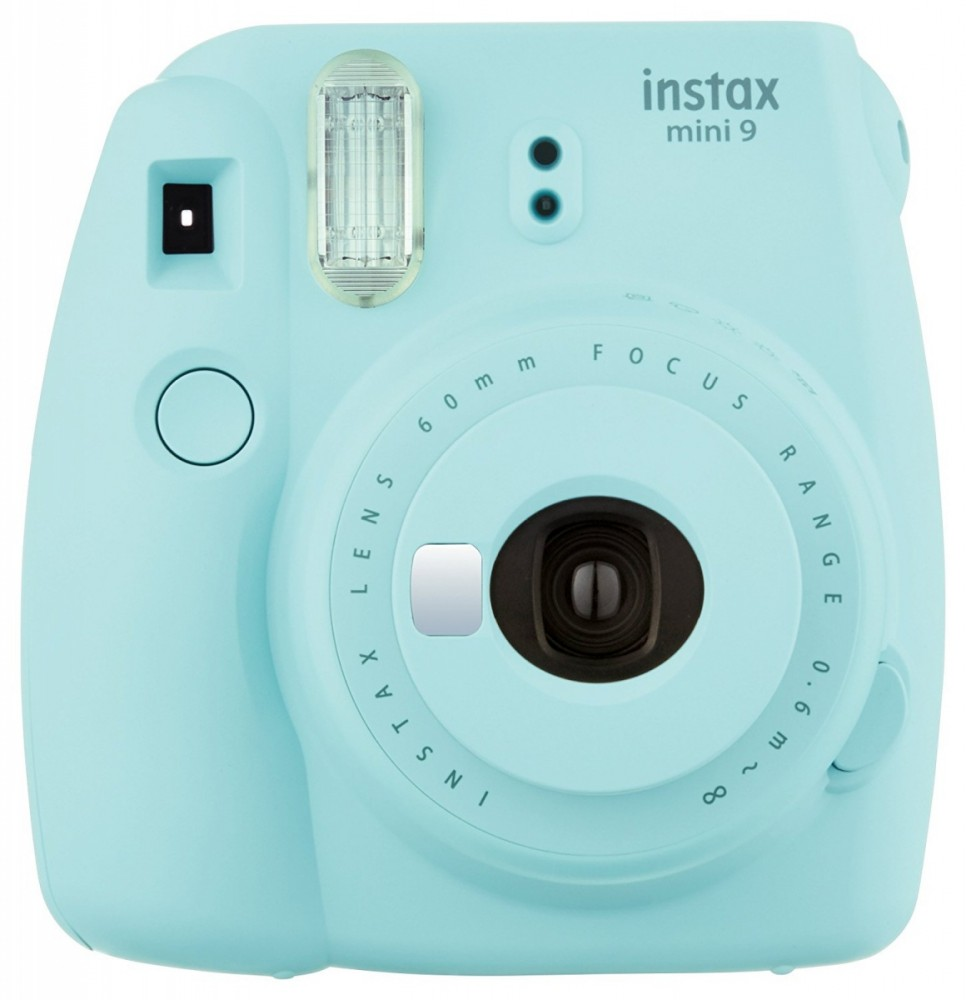 Instax Mini 9 ice blue FujiFilm Instax Mini 9 ice blue Digitālā kamera