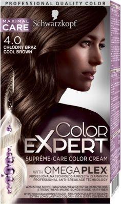 Schwarzkopf Color Expert Krem koloryzujacy do wlosow nr 4.0 Chlodny Braz 1op 68060409