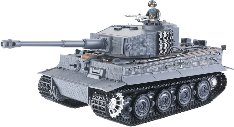 Tiger I 1:16 2.4GHz RTR fires with balls BB - blue TG/12022