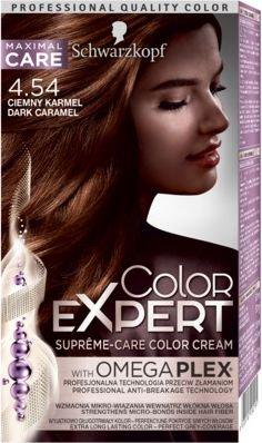Schwarzkopf Color Expert Krem koloryzujacy do wlosow nr 4.54 Ciemny Karmel 1op 68060195