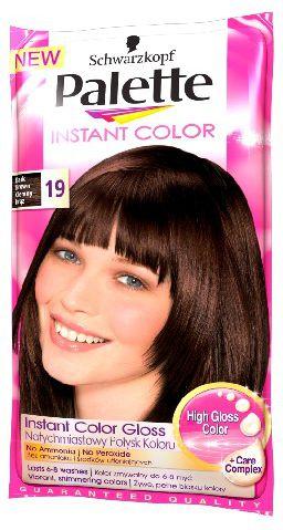 Palette Instant Color Szamponetka koloryzujaca Ciemny Braz nr 19 25 ml 68166814