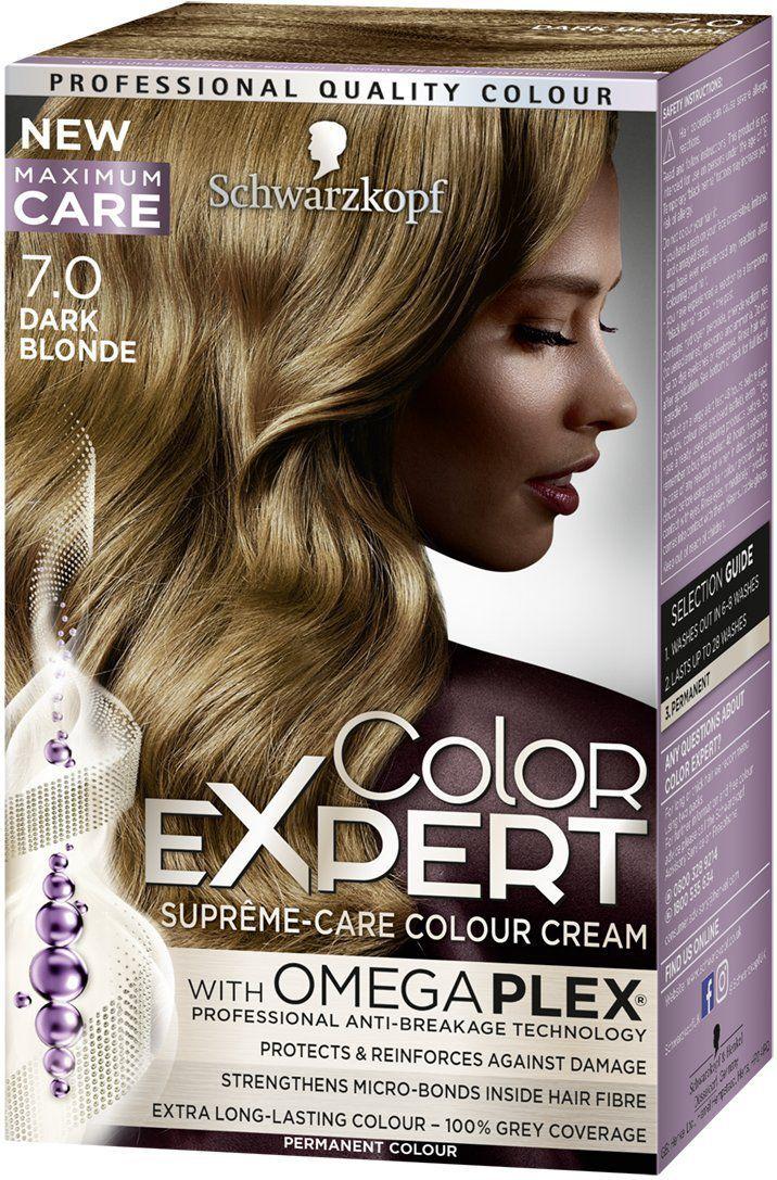 Schwarzkopf Color Expert Krem koloryzujacy do wlosow nr 7.0 Ciemny Blond  1op. 68059793