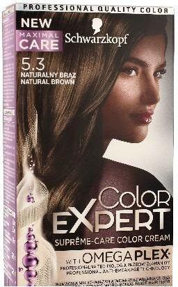 Schwarzkopf Color Expert Krem koloryzujacy do wlosow nr 5.3 Naturalny Braz 1op. 68059922