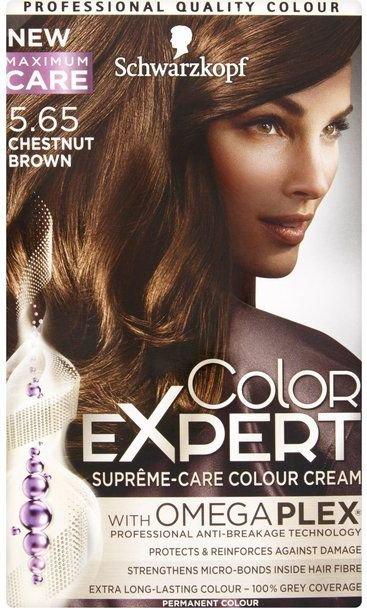 Schwarzkopf Color Expert Krem koloryzujacy do wlosow nr 6.65 Zlota Czekolada 1op. 68061031