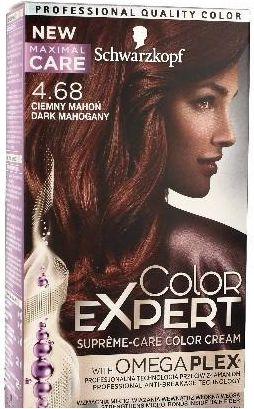 Schwarzkopf Color Expert Krem koloryzujacy do wlosow nr 4.68 Ciemny Mahon 1op. 68060676