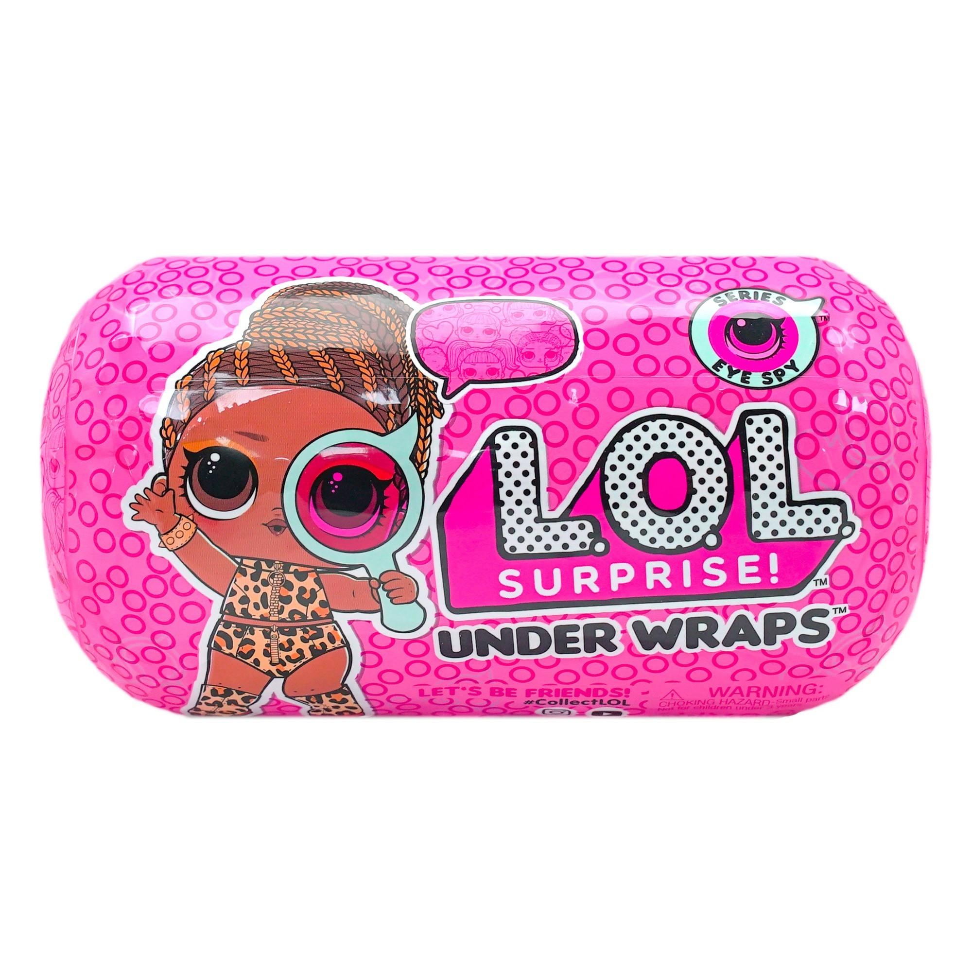 MGA LOL L.O.L. Surprise Innovation Under Wraps 4.2 Series Eye Spy (ir uz vietas veikalā) bērnu rotaļlieta