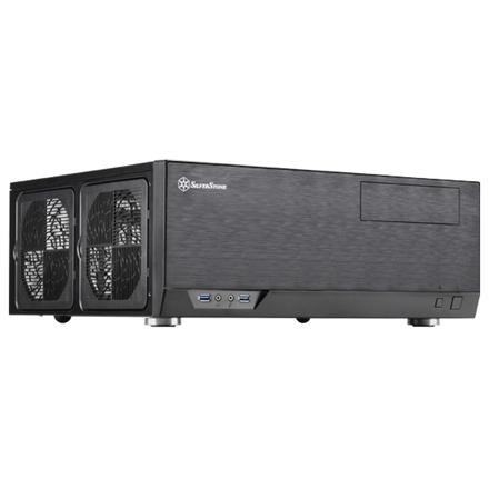 SilverStone Grandia GD09B HTPC Datora korpuss