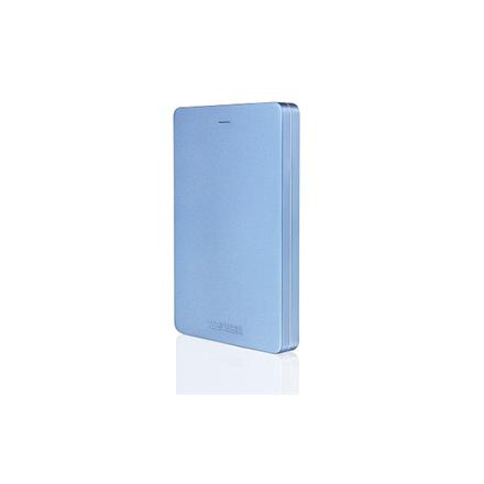 Toshiba STOR.E CANVIO ALU 2.5; 2TB USB 3.0 Blue Ārējais cietais disks